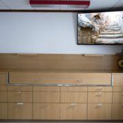 Flachbildschirm im Essraum 2. Obergeschoss