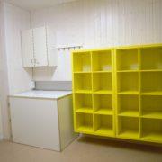 Waschraum 1. Obergeschoss mit Einbauküche